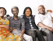 Sadiq Daba, Joe Okei Odumakin, Mobolaji Daba & Retired Director from Lagos Water Cooperation.
