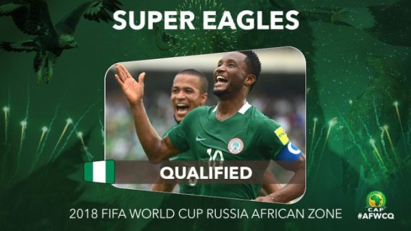 Super Eagles qualify