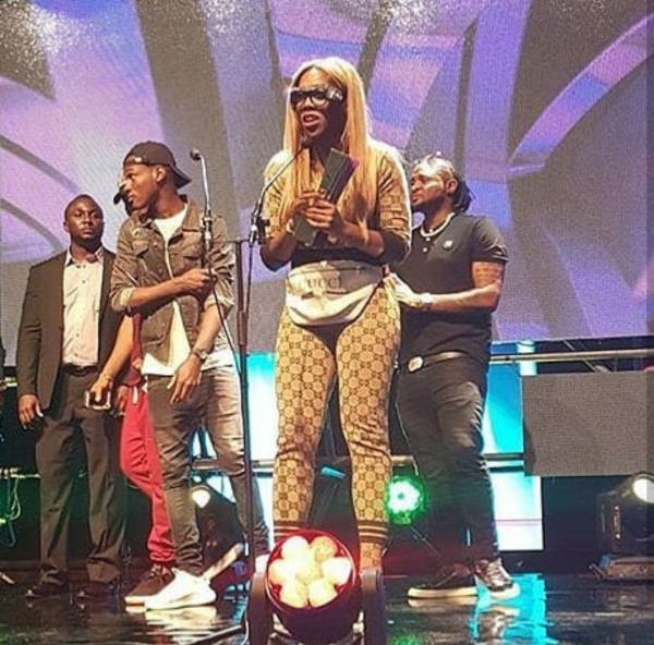 Tiwa Savage wins Best female MVP