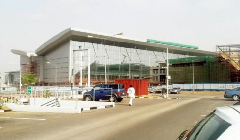 Abuja airport terminal building [Photo Credit: Daily Trust]