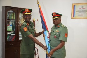 Mr. Agim, a brigadier general, replaces John Enenche as the Nigerian Army spokesperson.