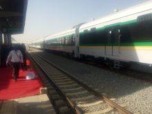 Buhari commissions new rail vehicles, first Nigeria dry port.