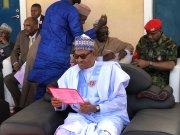 Nigerian President, Muhammadu Buhari.