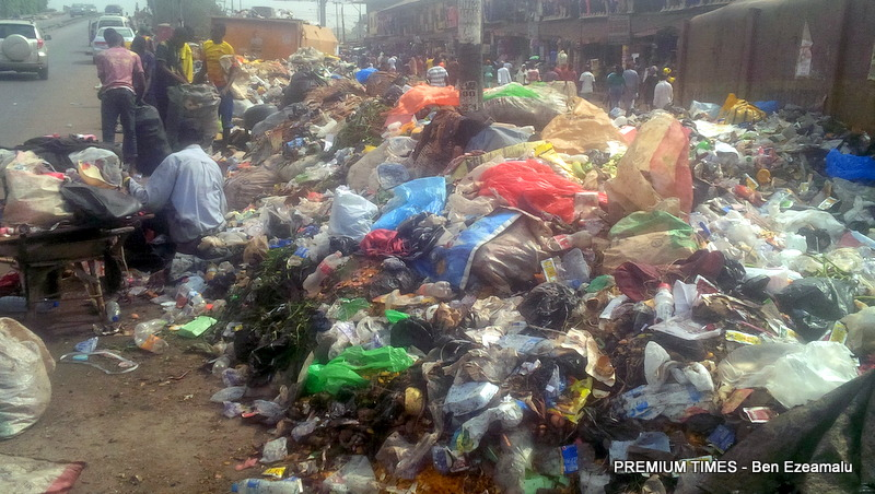 Lagos struggles to stay afloat an ocean of refuse