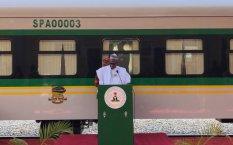 President Buhari commissions new train coaches in Kaduna