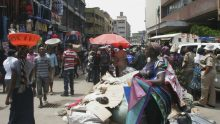 CORONAVIRUS: Nigerians on the street going about their daily business. [Photo credit: Quartz]