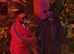 Nigerian musician and producer, Samklef and Konvict music boss, Akon.