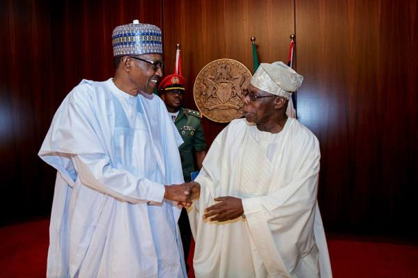 President Buhari and Obasanjo
