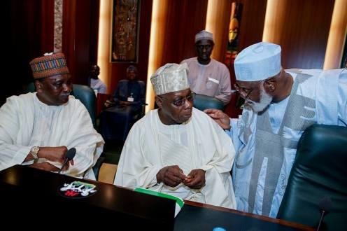 Gowon Obasanjo and Abdulsalami