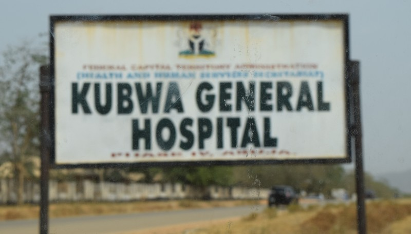 A hospital used to illustrate the story