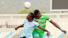 The Match between Nasarawa United and Kwara United