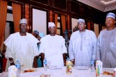 PRESIDENT BUHARI CHAIRS 4TH NAT APC CAUCUS MEETING 5