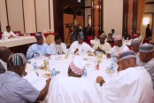 PRESIDENT BUHARI CHAIRS 4TH NAT APC CAUCUS MEETING 7