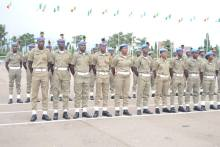 A detachment of the Peace Corps of Nigeria... Photo Credit: Facebook Page of Peace Corps of Nigeria