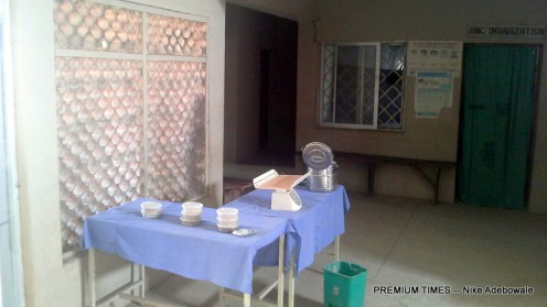 Dilapidated state of health facility in Chiromawa P.H.C
