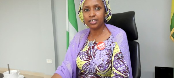 Hadiza Bala Usman, Managing Director of the Nigerian Ports Authority