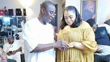 Kwam 1 weds long-time partner Fathia Opeyemi