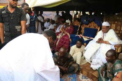 Actor Femi Branch conferred with chieftaincy title in Oyo