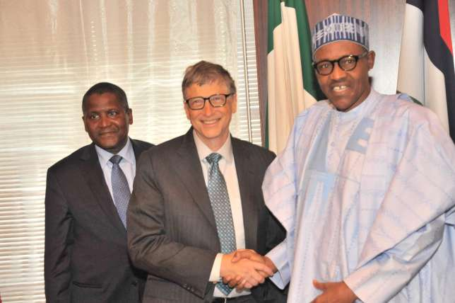 Image result for bill gates in nigeria