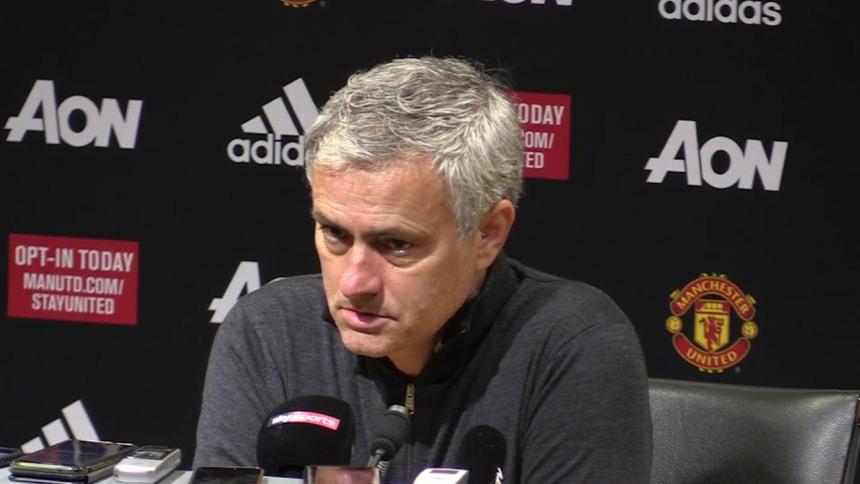 Jose Mourinho. [Photo credit: Skysports]