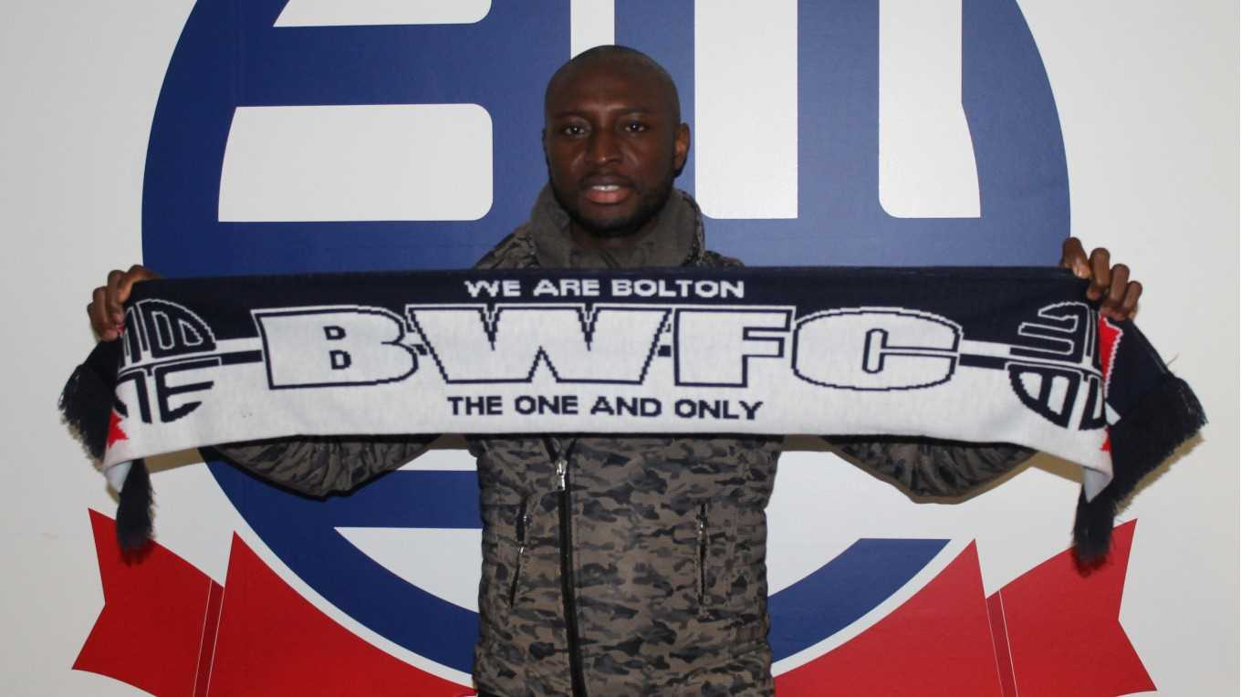 Bolton Complete Signing Of Nigeria Striker Chinedu Obasi
