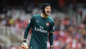 Arsenal goal keeper, Petr Cech