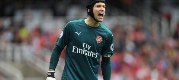 Arsenal goal keeper, Petr Cech