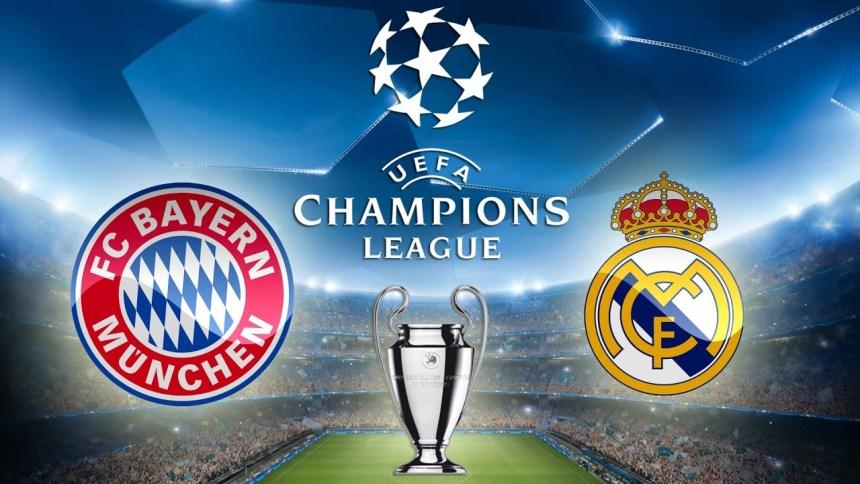 مشاهدة مباراة ريال مدريد و بايرن ميونيخ مباشر اليوم - دوري أبطال أوروبا