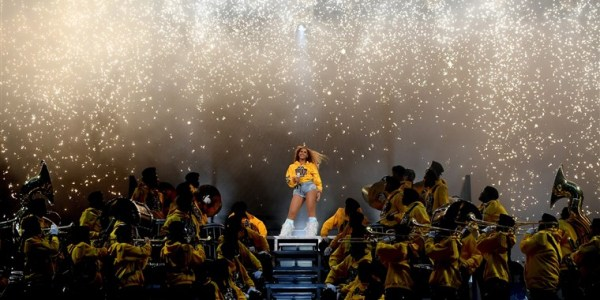 Photo from Beyonce Coachella performance [Photo: NBC news]