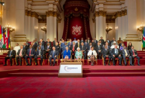 The Queen, Head of the Commonwealth officially opened the 2018 Commonwealth Heads of Government Meeting (#CHOGM2018).