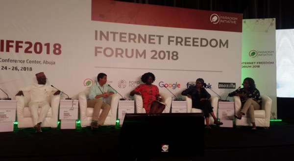 Panelists discussing how to ruin elections in Africa