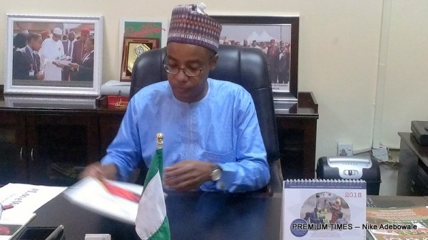 Outgoing Sani Aliyu, Director-General, National Agency for the Control of AIDS (NACA)