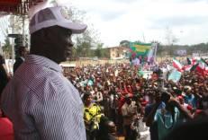 Deputy Senate President Ike Ekweremadu during a peace rally in Enugu