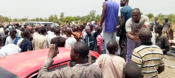 Commercial Drivers Protest Over Extortion By Police/Soldiers In Adamawa