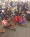 Ondo University students block roads, protest fees hike