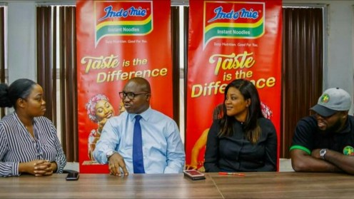 Dufil Prima Foods, makers of Indomie Noodles renewed its partnership with the Fab-5