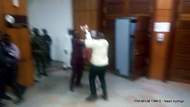 How thugs stole Senate mace