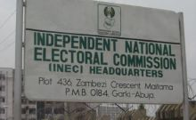 INEC office signpost
