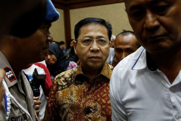 Indonesian court jails ex-speaker for 15 years in massive graft case