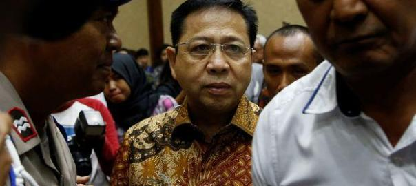 Indonesian court jails ex-speaker for 15 years in massive graft case
