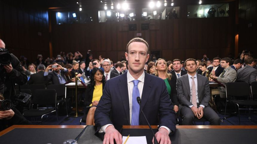 Facebook CEO Mark Zuckerberg arrives to testify before a joint hearing of the US Senate Commerce, Science and Transportation Committee and Senate Judiciary Committee on Capitol Hill, April 10, 2018 in Washington, DC. Photo: JIM WATSON/AFP/Getty Images (Photo Source: racked.com)