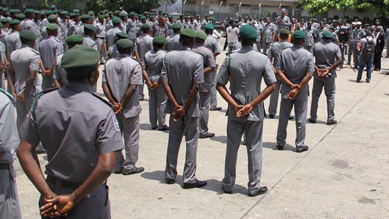 Nigerian Customs Officials
