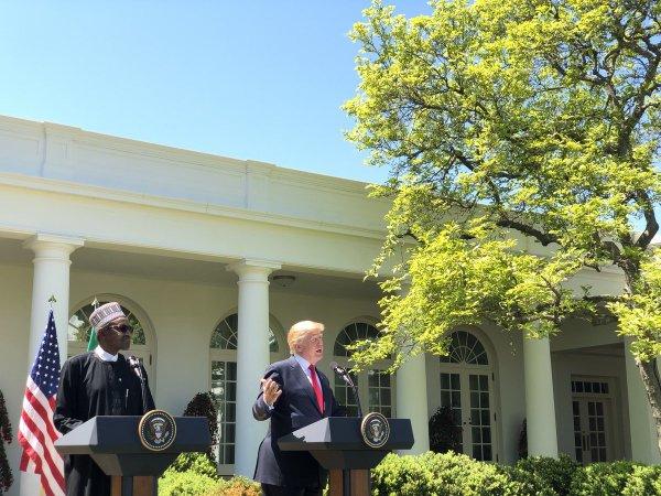 Nigerian President, Muhammadu Buhari and U.S. President Donald Trump