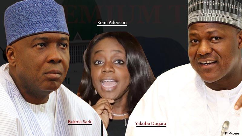Image result for N10billion Adeosun Largesse: Saraki's N'Assembly Paid N5.6billion To 44 Unqualified Firms