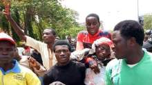 Shiites protesters in Abuja