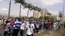 File photo of Shiite protesters