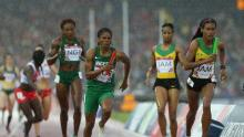 Women race at the Commonwealth Games used to illustrate the story.