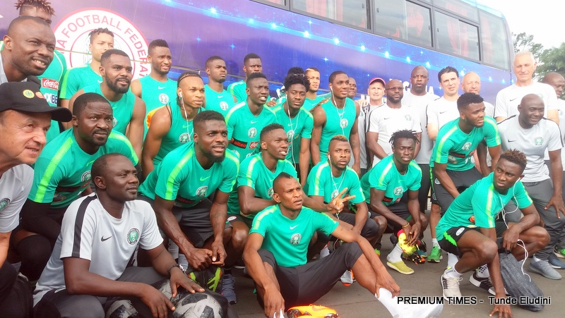 Nigeria Super Eagles Team