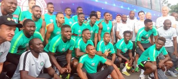 Nigeria Super Eagles Team