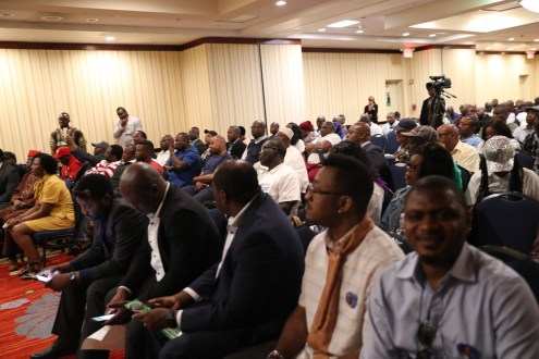 Sowore engages Nigerians in New York